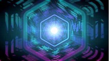 تصویر از Futuristic Logo Reveal