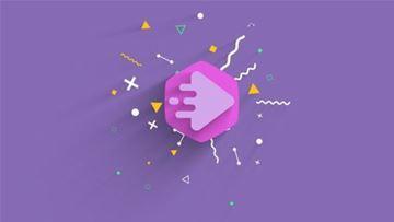 تصویر از Minimal Shape Logo Reveal