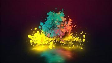 تصویر از (Particle Stylish Logo (2 sizes