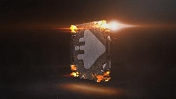 تصویر از Molten Rocks Logo Reveal