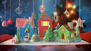 تصویر از Christmas Paper Animation