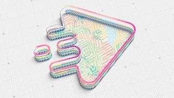 تصویر از 3D Outlines Logo